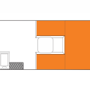 Australian Scout Campervan Day Floorplan