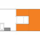 Australian Scout Campervan Day Floorplan