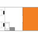 Australian Scout Campervan Night Floorplan
