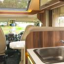 New Zealand Cruiser Campervan Interior 1