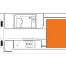Britz Venturer Floorplan Night v30