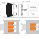 Britz 4WD Outback Floorplan Night