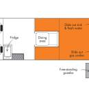 Scout Britz 4WD Floorplan Day