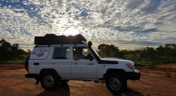 Broome to Darwin in a 4WD