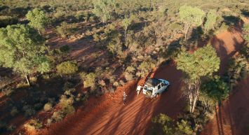 Red Centre by 4WD