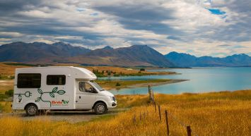 What's it like to travel the South Island in a Britz EV