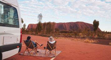 Darwin to Uluru