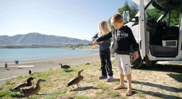 Auckland to Christchurch Family Roadtrip