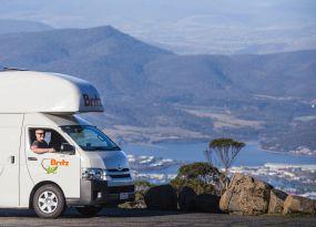 Britz Rentals Hobart branch in
