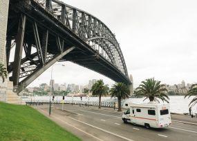 Britz Rentals Sydney branch in