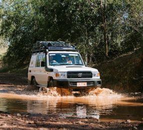 The Britz 4WD Campervans