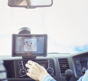 Britz In Vehicle Tablet