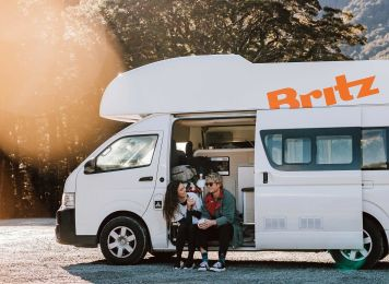 Get inspired with Britz, New Zealand in a Campervan