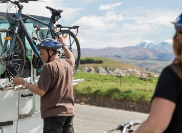Get inspired with Britz, Cycling in New Zealand