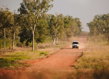 Get inspired with Britz, Darwin 4WD Guide