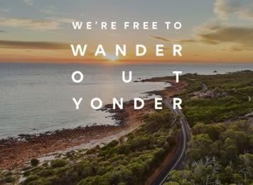 Get inspired with Britz, Campervan Hire Western Australia
