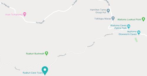 ruakuri-cave Map