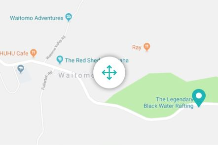 Legendary Black Water Rafting Co. Map