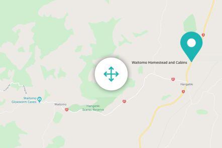 Waitomo Homestead Map