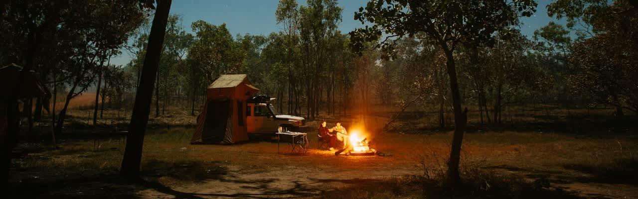 britz 4wd outback campfire