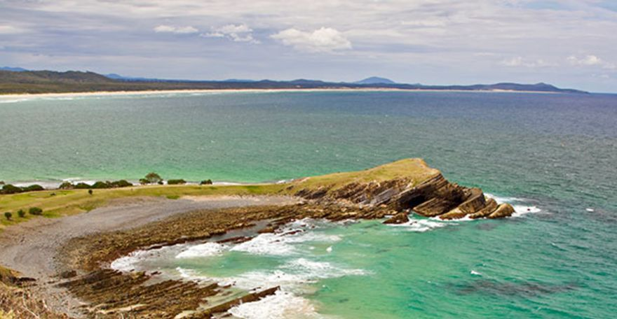 Camping in NSW's northern headlands
