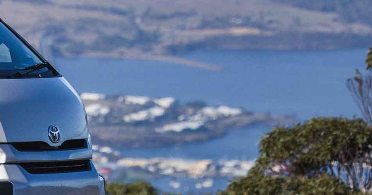Campervan Hire Tasmania, Hobart Airport | Britz Campervans AU