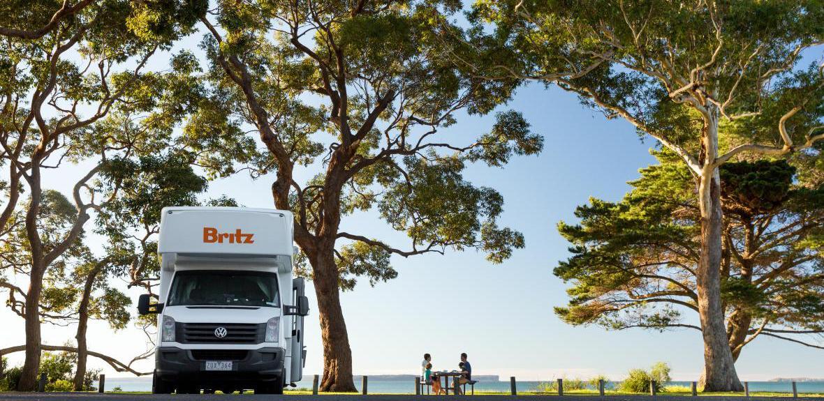 Australian Frontier Campervan Exterior 1