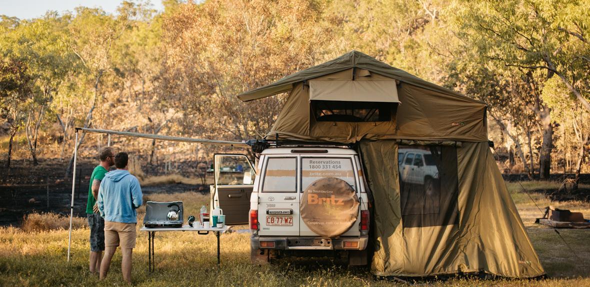 Australian Landcruiser Campervan Exterior 2