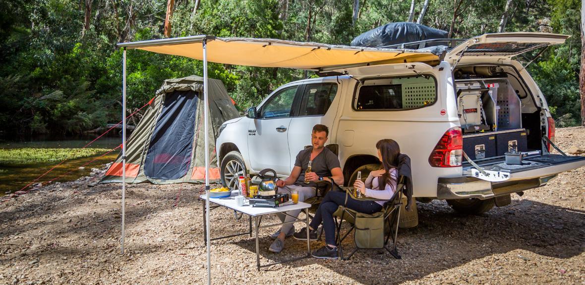 Australian Outback Campervan Exterior 2
