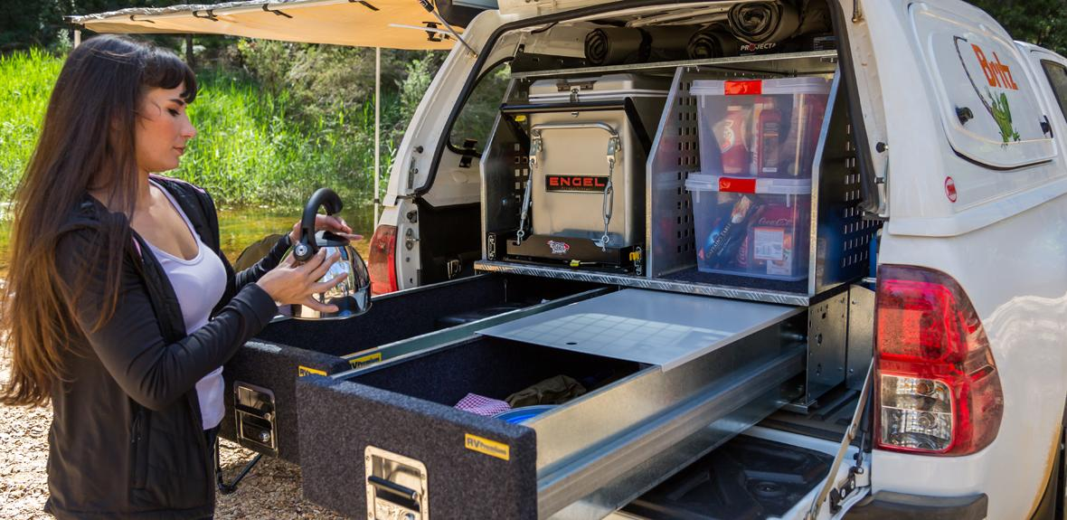Australian Outback Campervan Exterior 3