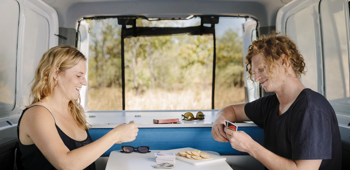 Australian Scout Campervan Interior 2