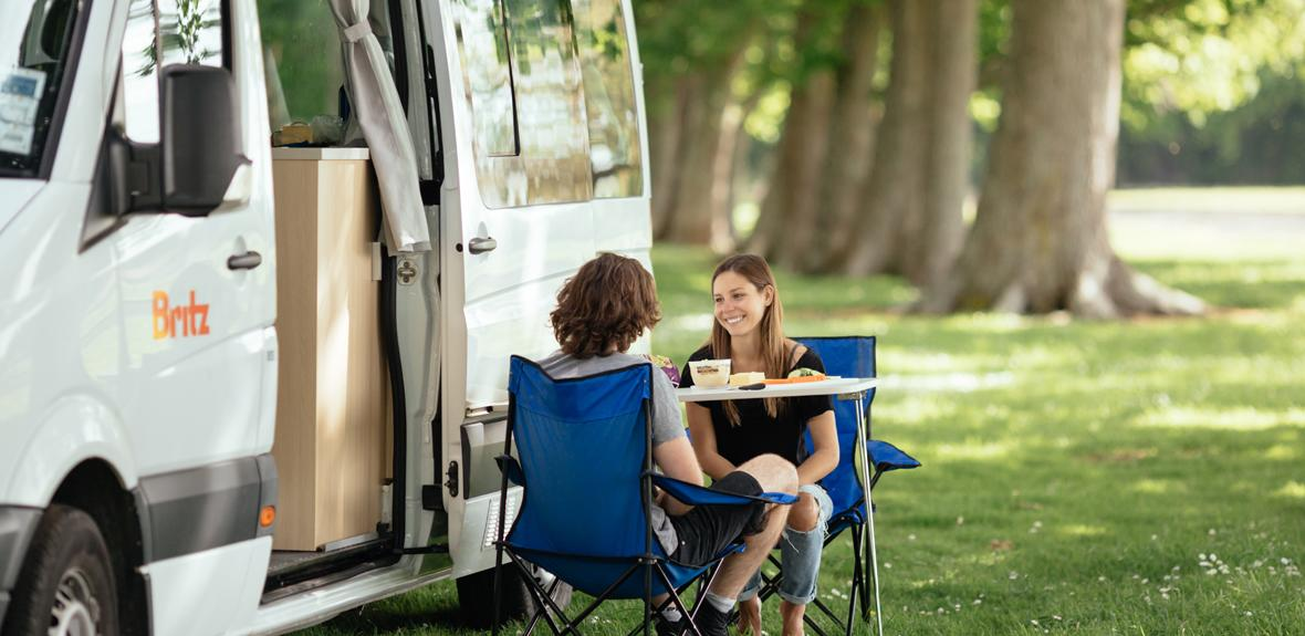Australian Venturer Campervan Exterior 2