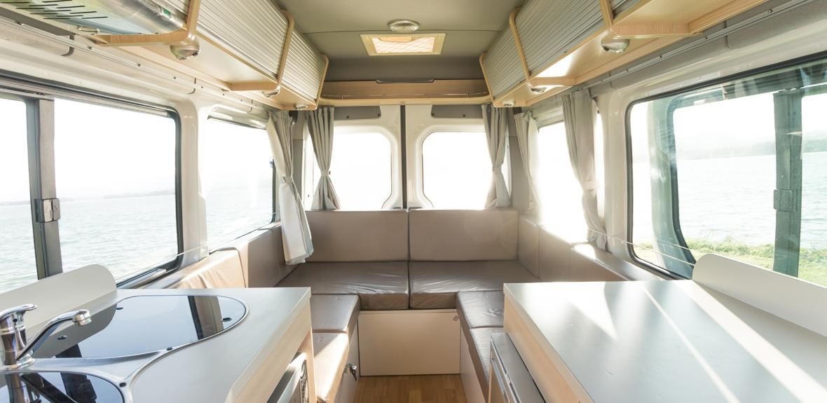 Australian Venturer Campervan Interior 4