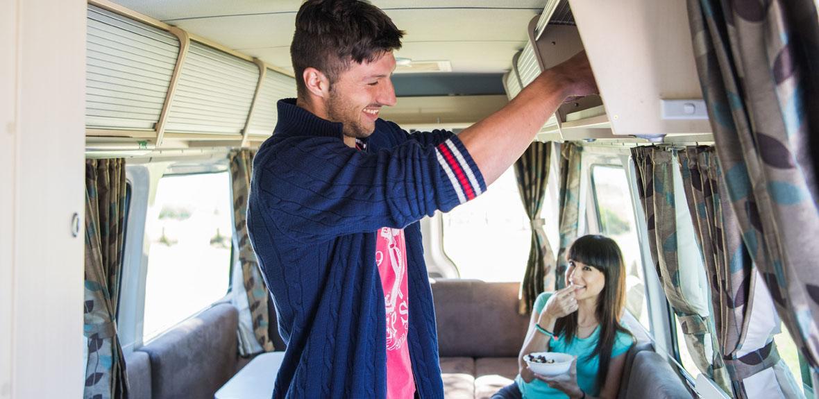 Australian Venturer Plus Campervan Interior 1