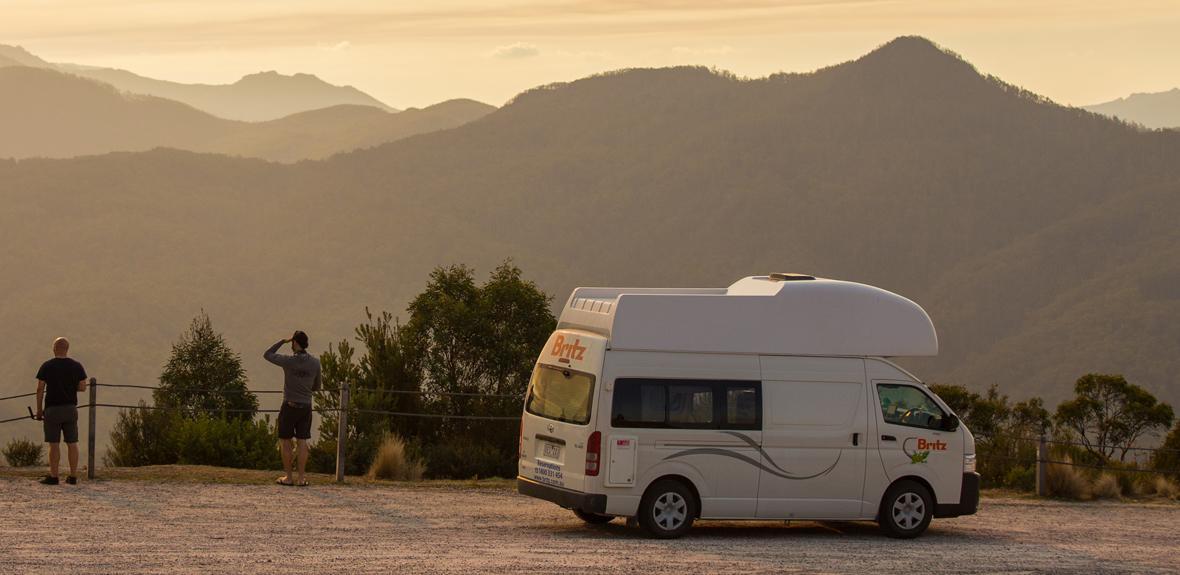 Australian Voyager Campervan Exterior 1