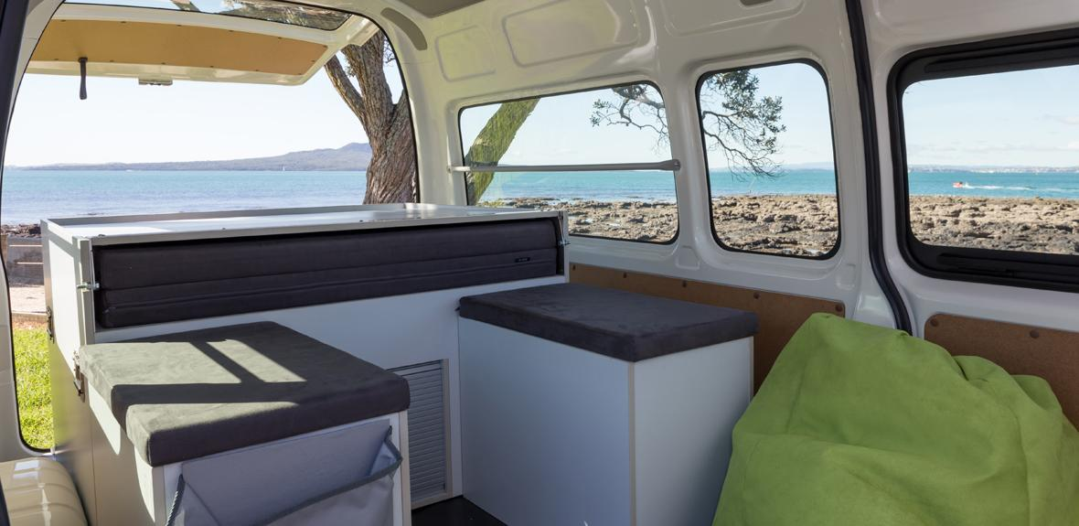 Australian Action Pod Campervan Interior 1