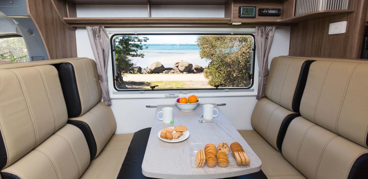 Australian Traveller Campervan Interior 4