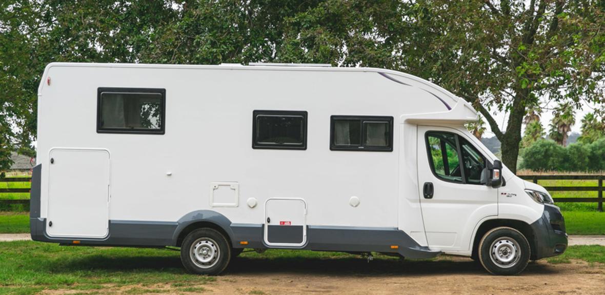 New Zealand Cruiser Campervan Exterior 2