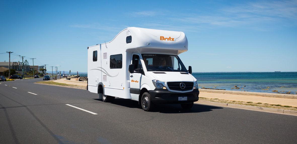 Australian Traveller Campervan Exterior 1