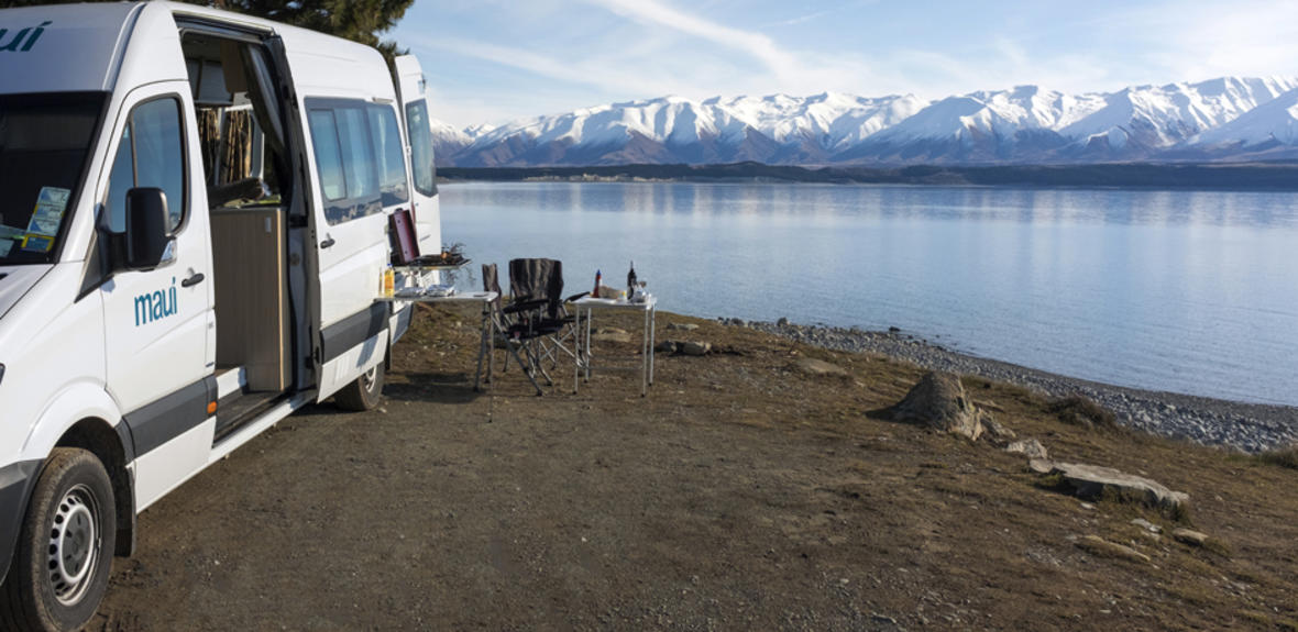 New Zealand maui Ultima Plus Motorhome Exterior 2