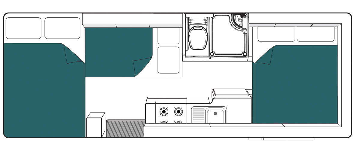 New Zealand maui River Motorhome Floorplan Day v2