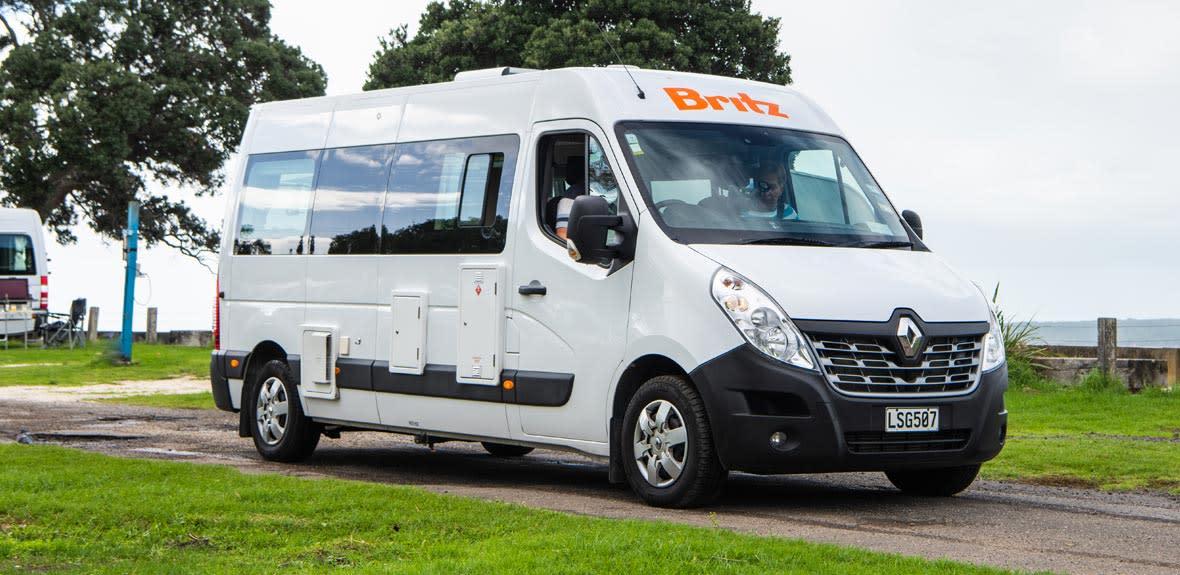 Venturer - 2 Berth Campervan & Motorhome Hire | Britz New