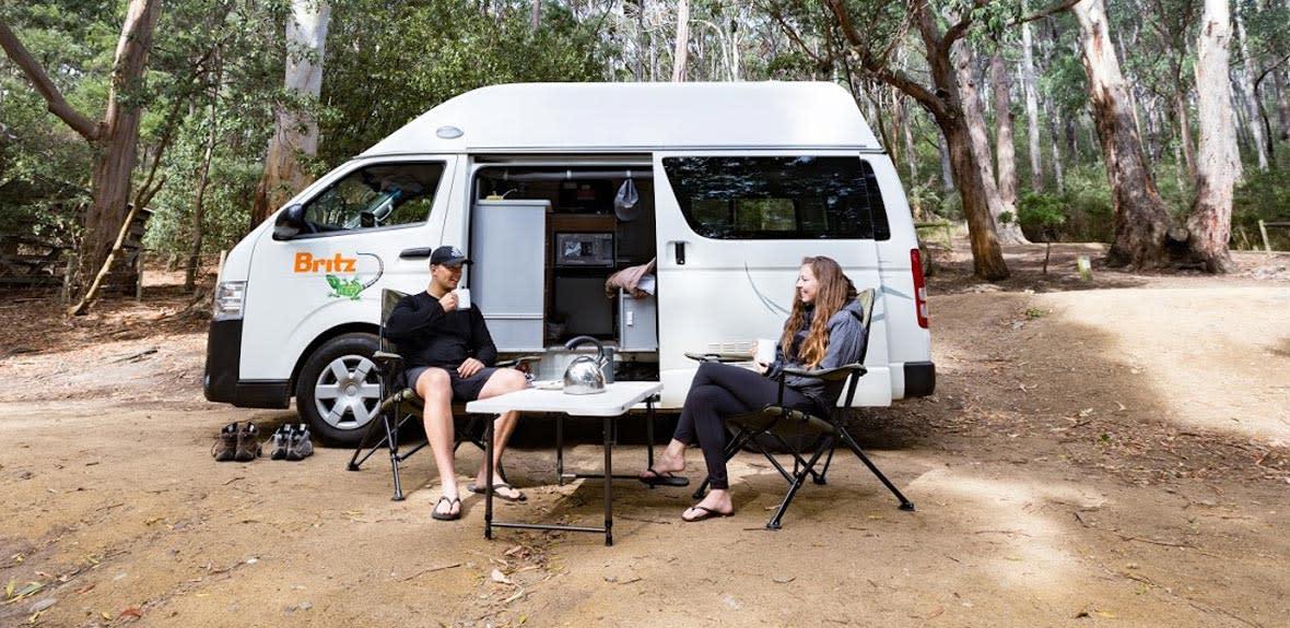 Australian Hitop Campervan Exterior 1