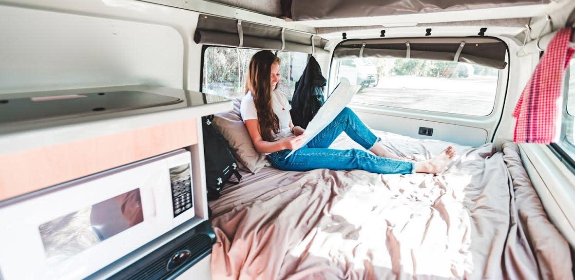 Australian Hitop Campervan Interior 3