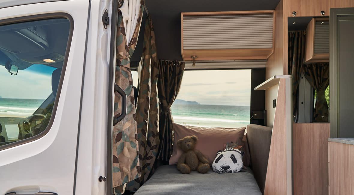 Maui Ultima Plus 3 Berth Motorhome Interior Child Bed
