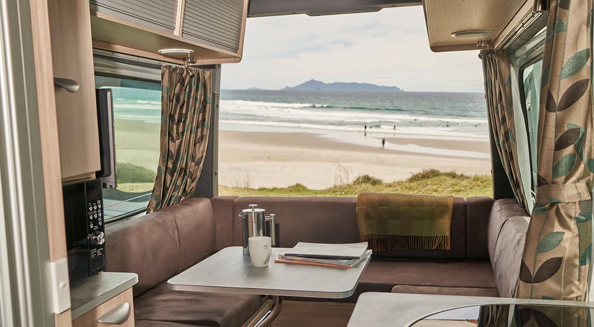 Maui Ultima 2 Berth Motorhome Interior Lounge Daytime