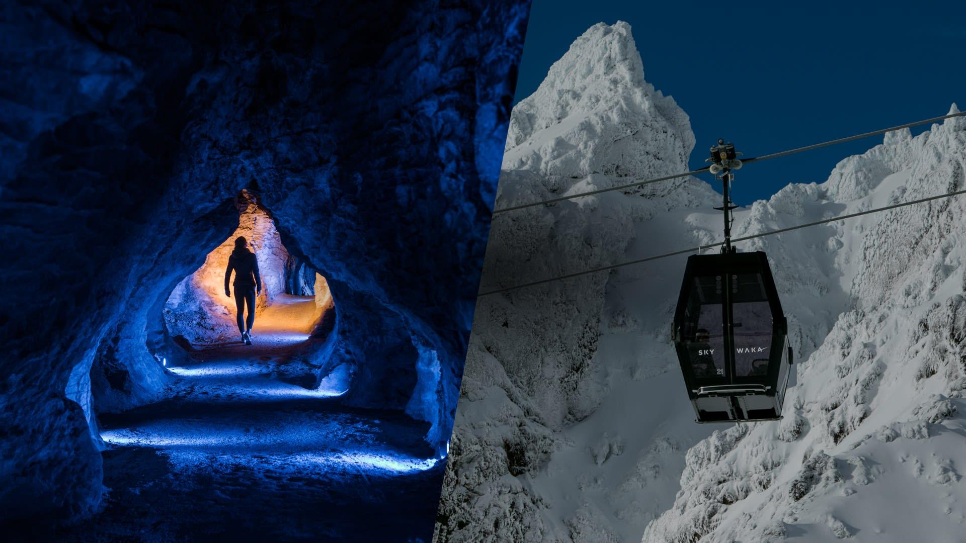 Sky Waka + NZ's two most popular glowworm caves