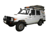Side profile of the Britz 5 Berth Safari Landcruiser 4WD Campervan