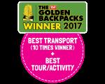 The Golden Backpacks Awards 2017
