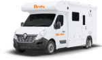 Side profile of the Britz 2 Berth Freedom Campervan